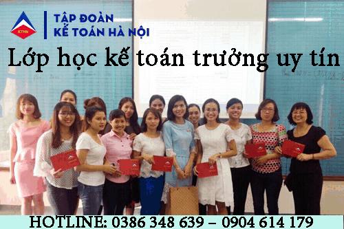 Trung tâm đào tạo kế toán trưởng tại Thanh Trì Hà Nội