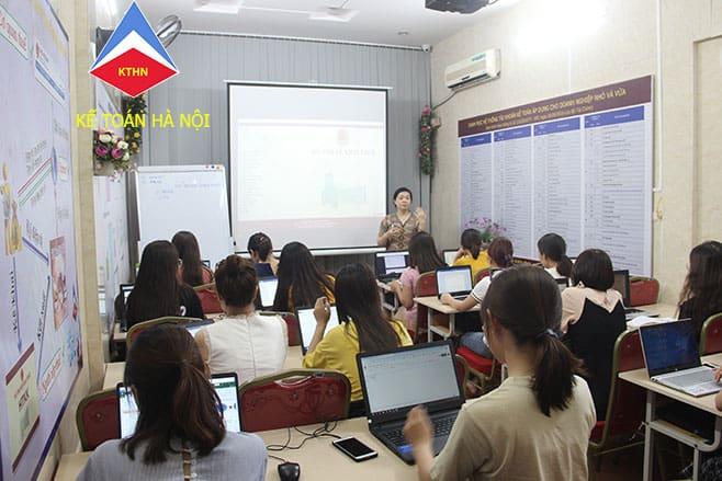 Trung tâm dạy kế toán thuế tại quận Lê Chân