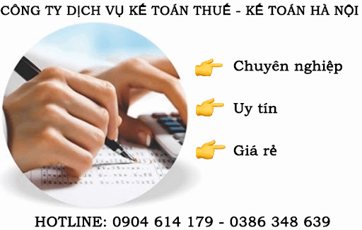 Dịch vụ kế toán thuế tại Thị Cầu Bắc Ninh