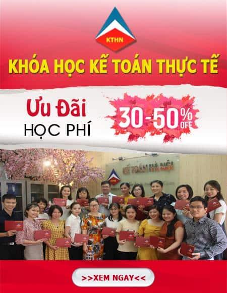 lớp học kế toán tổng hợp tại Đông Anh Hà Nội