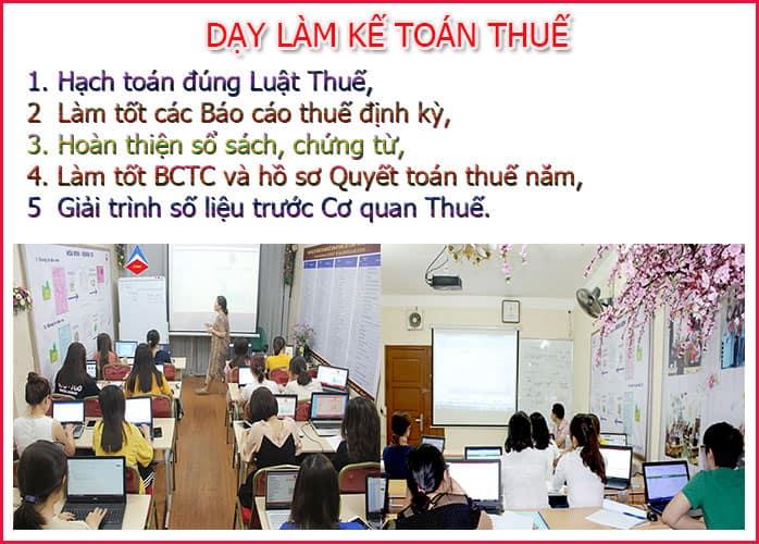 Trung tâm đào tạo kế toán thuế tại Thuận Thành