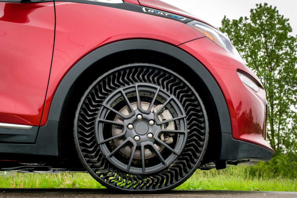 No More Flats: Michelin's Puncture-Proof Tire System