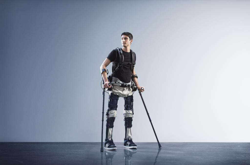 Robotic Exoskeleton Helps Paralyzed People Walk Again
