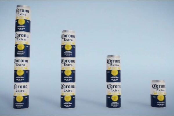 Corona Unveils Stackable Aluminum Cans to Replace Plastic Rings