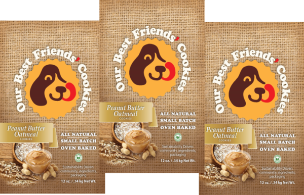 peanut butter oatmeal 3 pack product