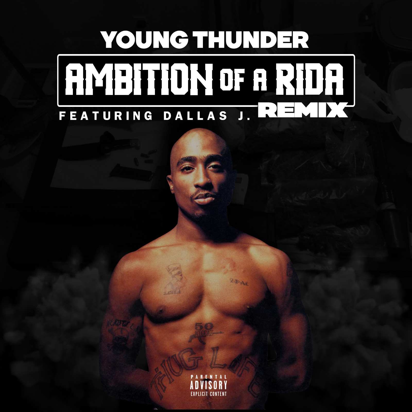 """Young Thunder – """"Ambition Of A Rida"""" remix ft – Dallas J"""