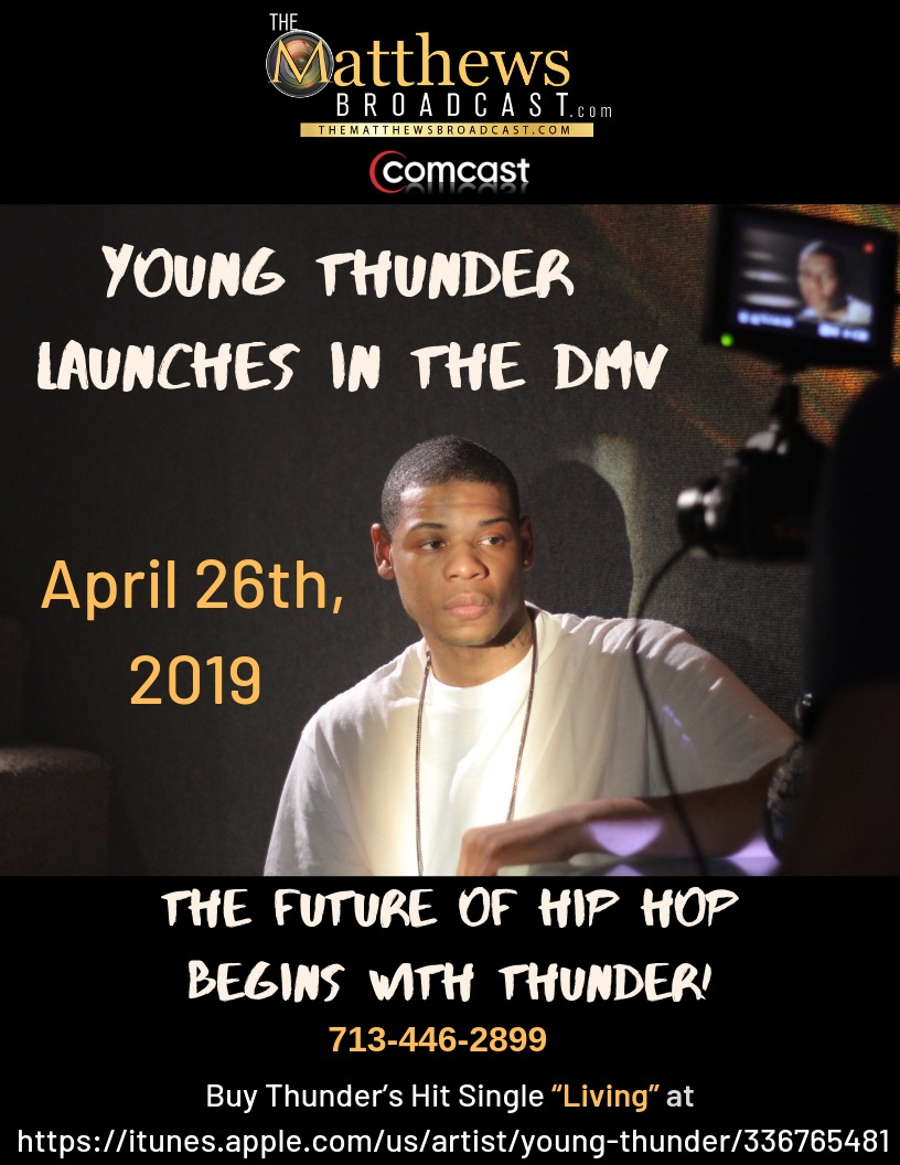 Young Thunder Launches in The DMV.