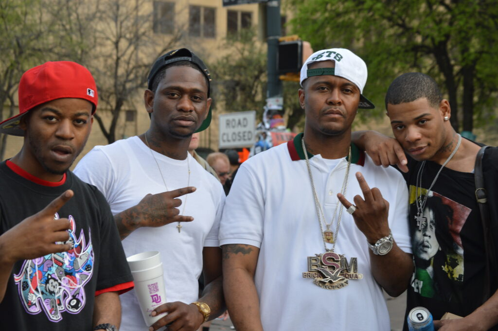 Young Thunder & Bo Deal from Brick Squad & Sun of (Zoolife) SXSW 14.