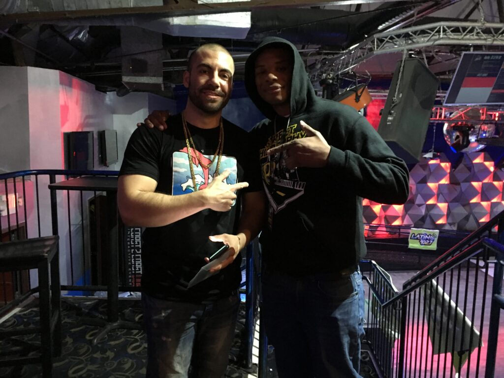 Young Thunder & Dj Pain at the Cielo Nightclub in Austin, Tx.