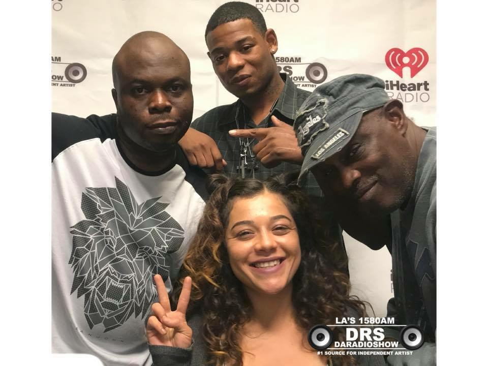 Young Thunder's radio interview with the DARADIOSHOW in Los Angeles, California.