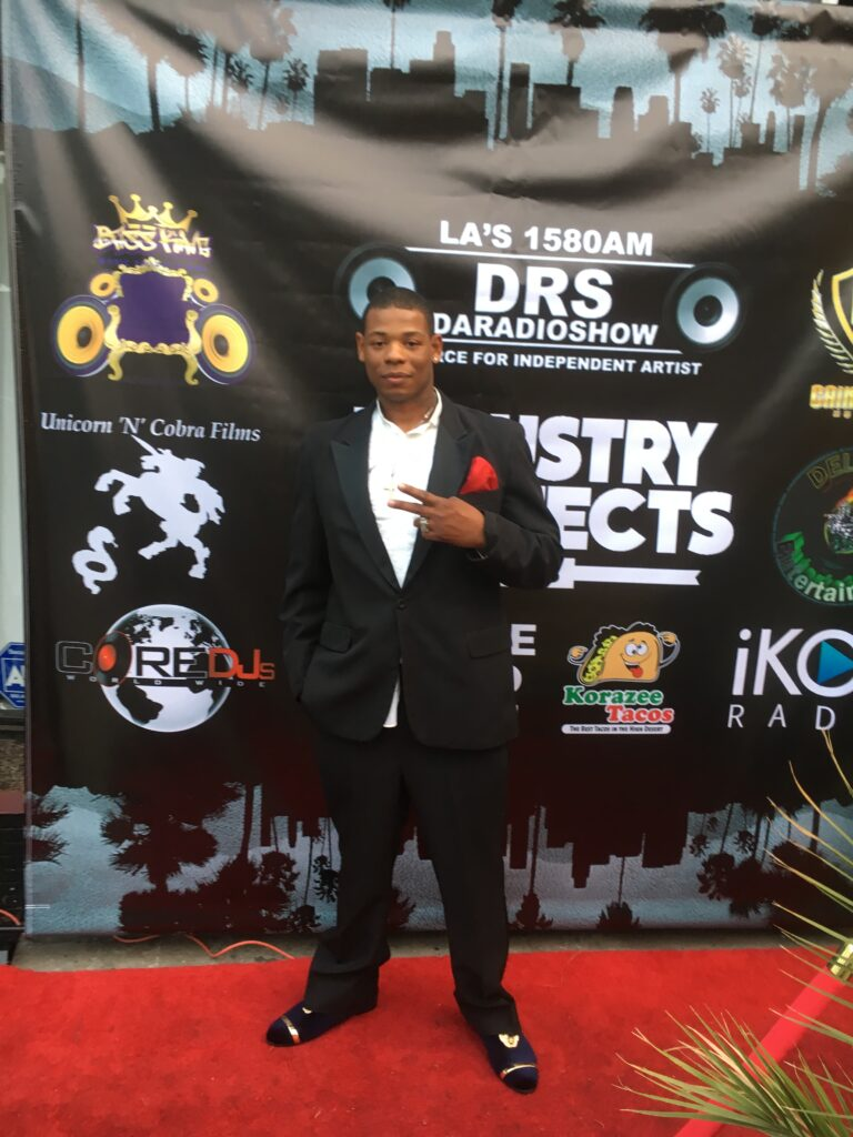 Young Thunder at DARADIOSHOW Industry Connects Pre-party in LA.