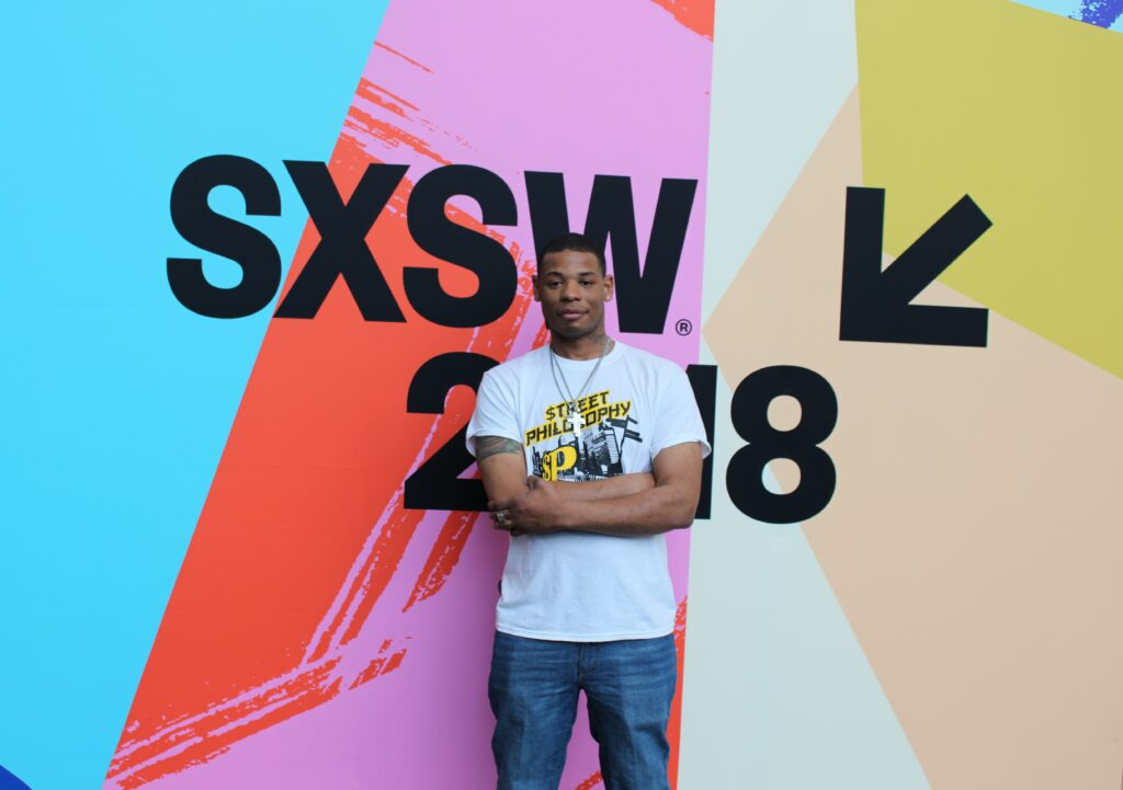 Young Thunder at SXSW 2018.