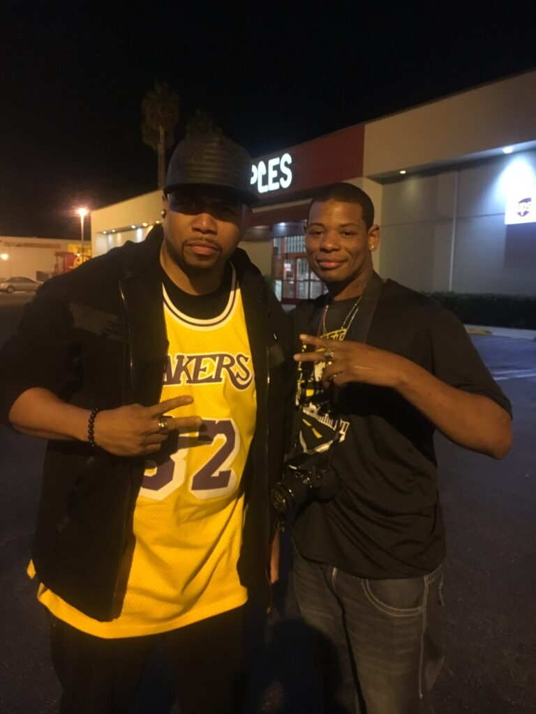 Young Thunder & actor Omar Gooding in LA.
