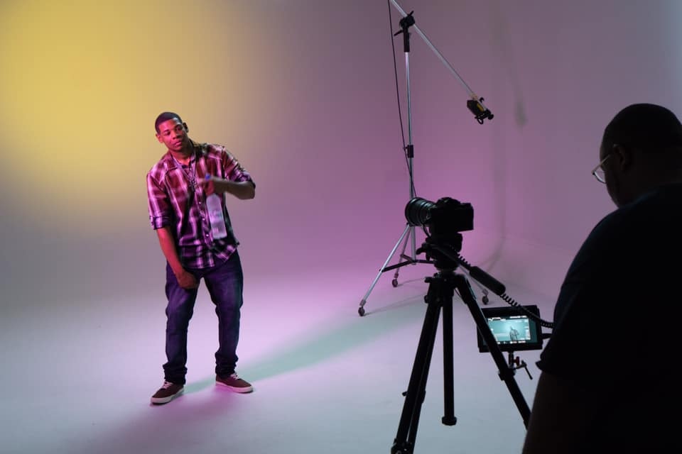 Young Thunder - Living Music Video shoot