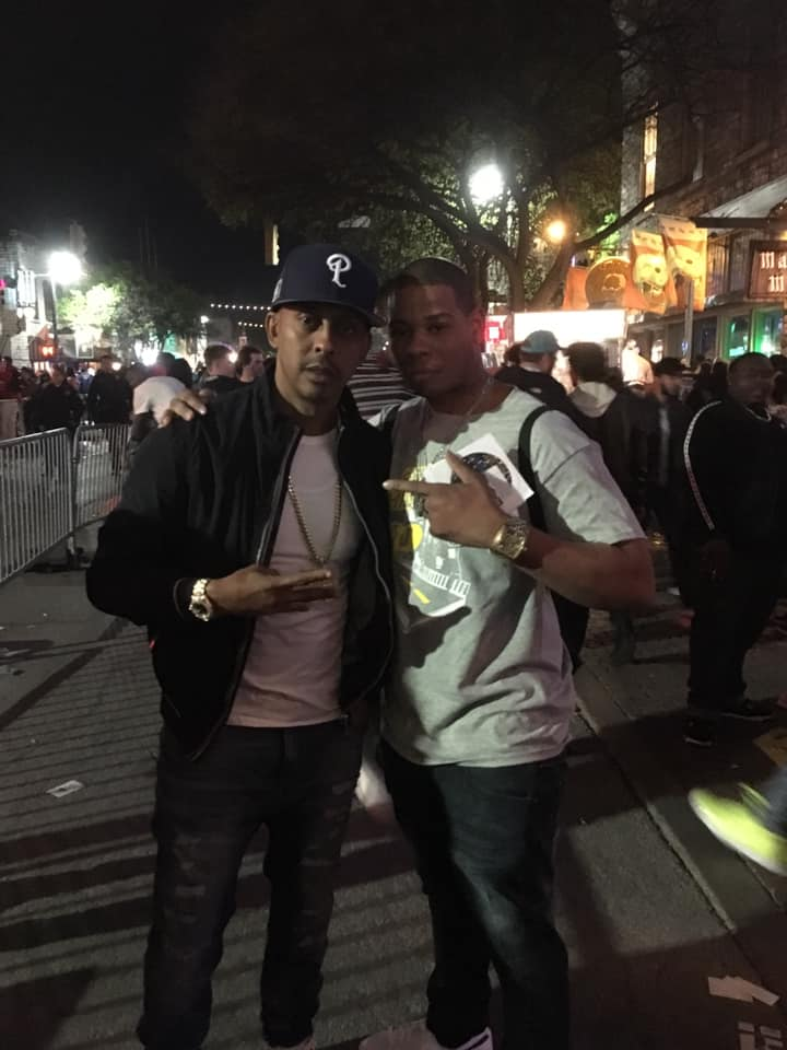 Young Thunder & Gillie Da Kid on 6th Street in Austin, Tx SXSW 19.