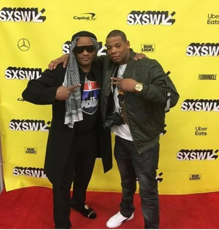Young Thunder & O.G Mack Drama from Brick Squad 1017 at the SXSW 19.