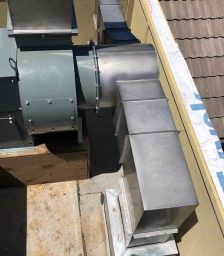 Welded Grease Kitchen Duct