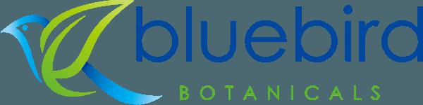 Logo for bluebird botanicals colorado