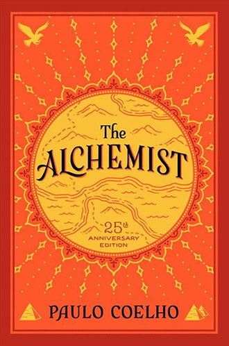 Paula Coelho - The Alchemist 25th Anniversary Edition book cover