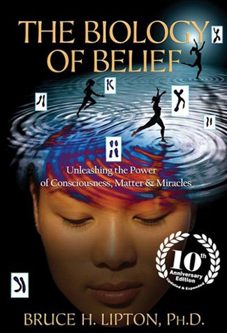 Book cover image of The Biology of Belief - Unleashing the power of consciousness, matter & miracles by author Bruce H. Lipton, Ph.D. - click on the image to navigate to the Amazon page for this book.