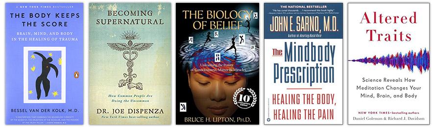 TheBodyIsMind Top 5 Book Recommendations #1 - Beliefs
