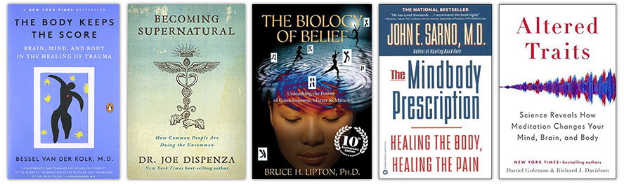 TheBodyIsMind Top 5 Book Recommendations #1 - Beliefs
