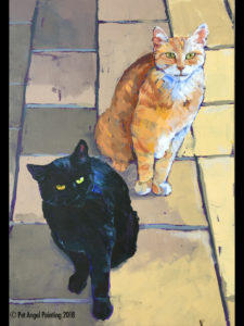 Buster and Blackie - sold