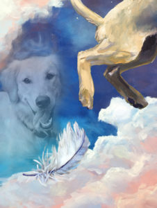 Painting Image with Pet Photo - Dog