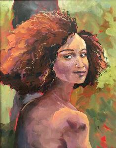 Acrylic painting by Jeannine Bringman