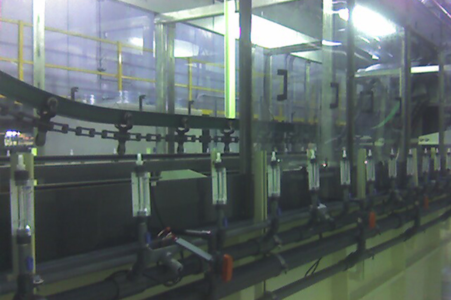 Continuous Wet Process System