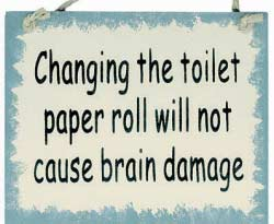 Teens and Toilet Paper Rolls