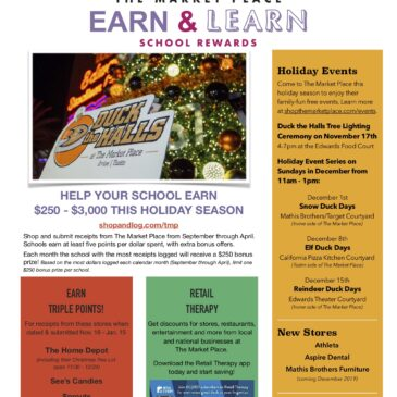 EARN & LEARN at the Market Place