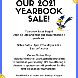 SPONSOR A STAFF YEARBOOK