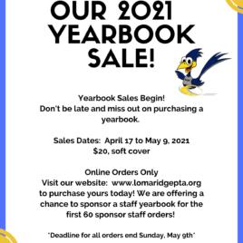 Loma Ridge 2020-2021 Yearbook