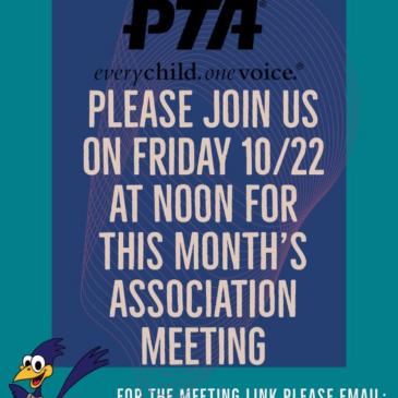 October Association Meeting