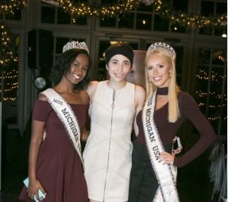 Gabriella with Miss Michigan and Miss Teen Michigan