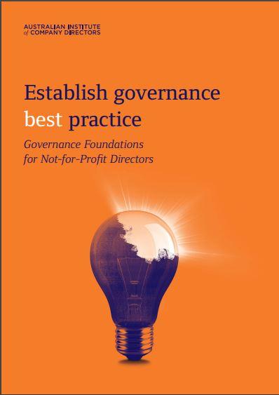Get the goss on good governance (Postponed due to Bushfire Emergency)