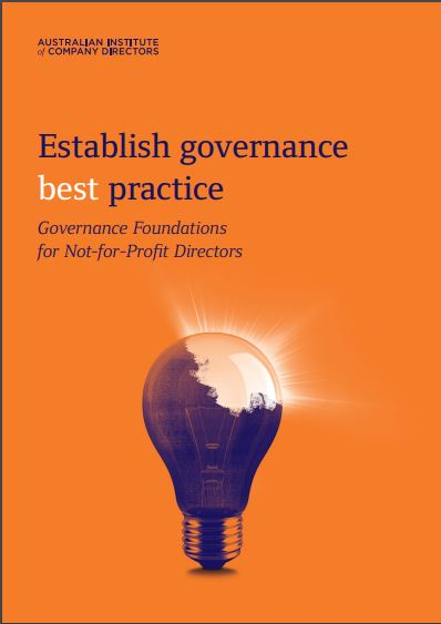 Get the goss on good governance (Postponed due to Bushfire Emergency)