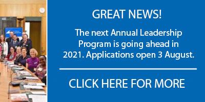 Annual Community Leadership Program will go ahead!