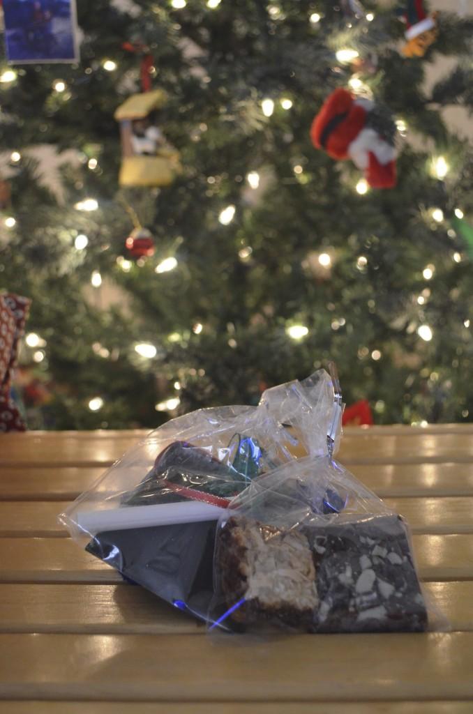 chalkboard ornaments gift