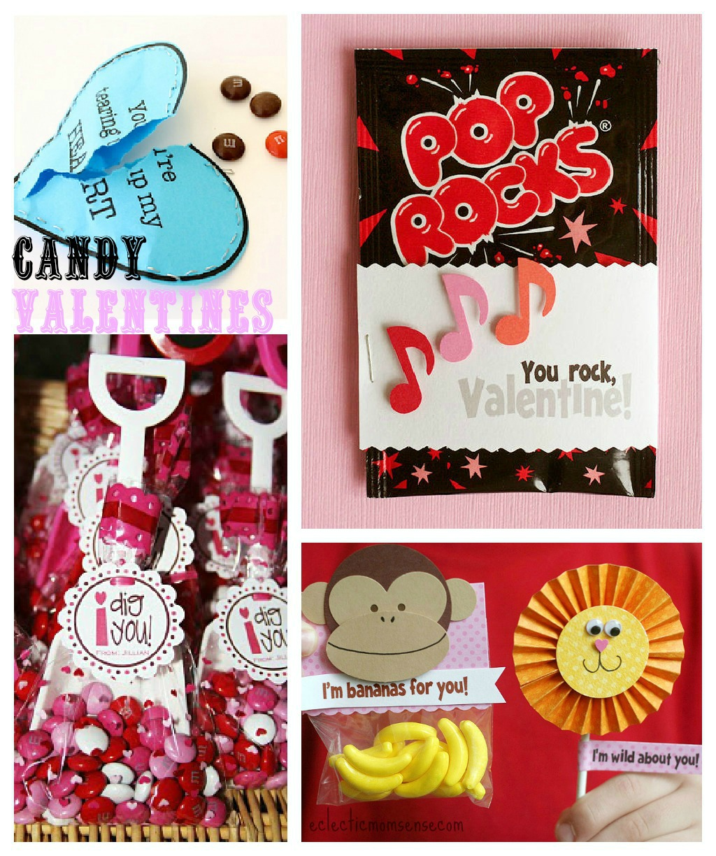 Candy Valentines Ideas via @eclecticmommy - eclecticmomsense.com