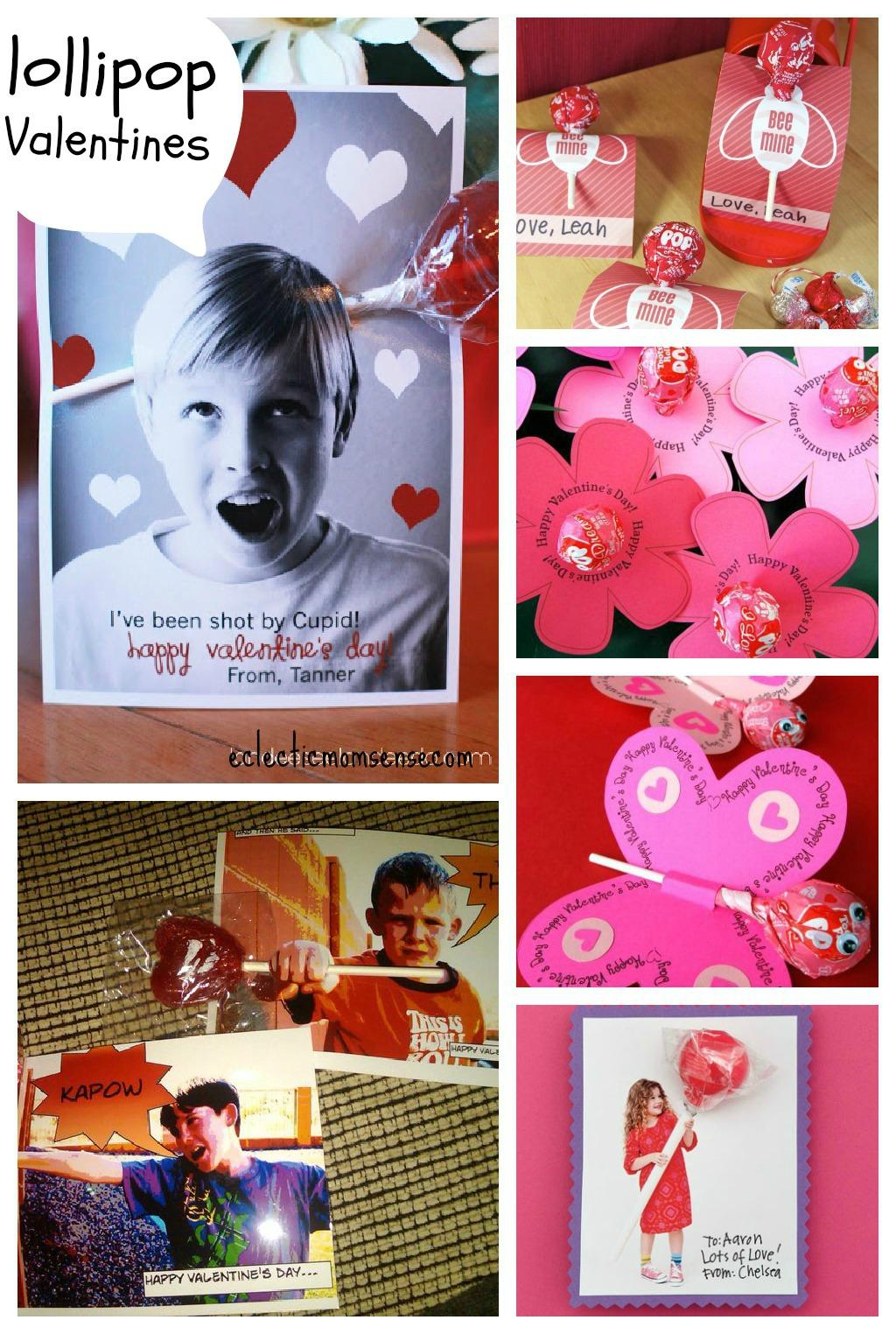 Lollipop Valentines Ideas via @eclecticmommy - eclecticmomsense.com