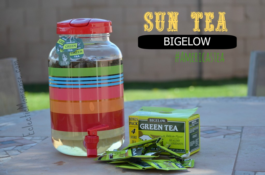 Eclectic Momsense- Making sun tea with #americastea