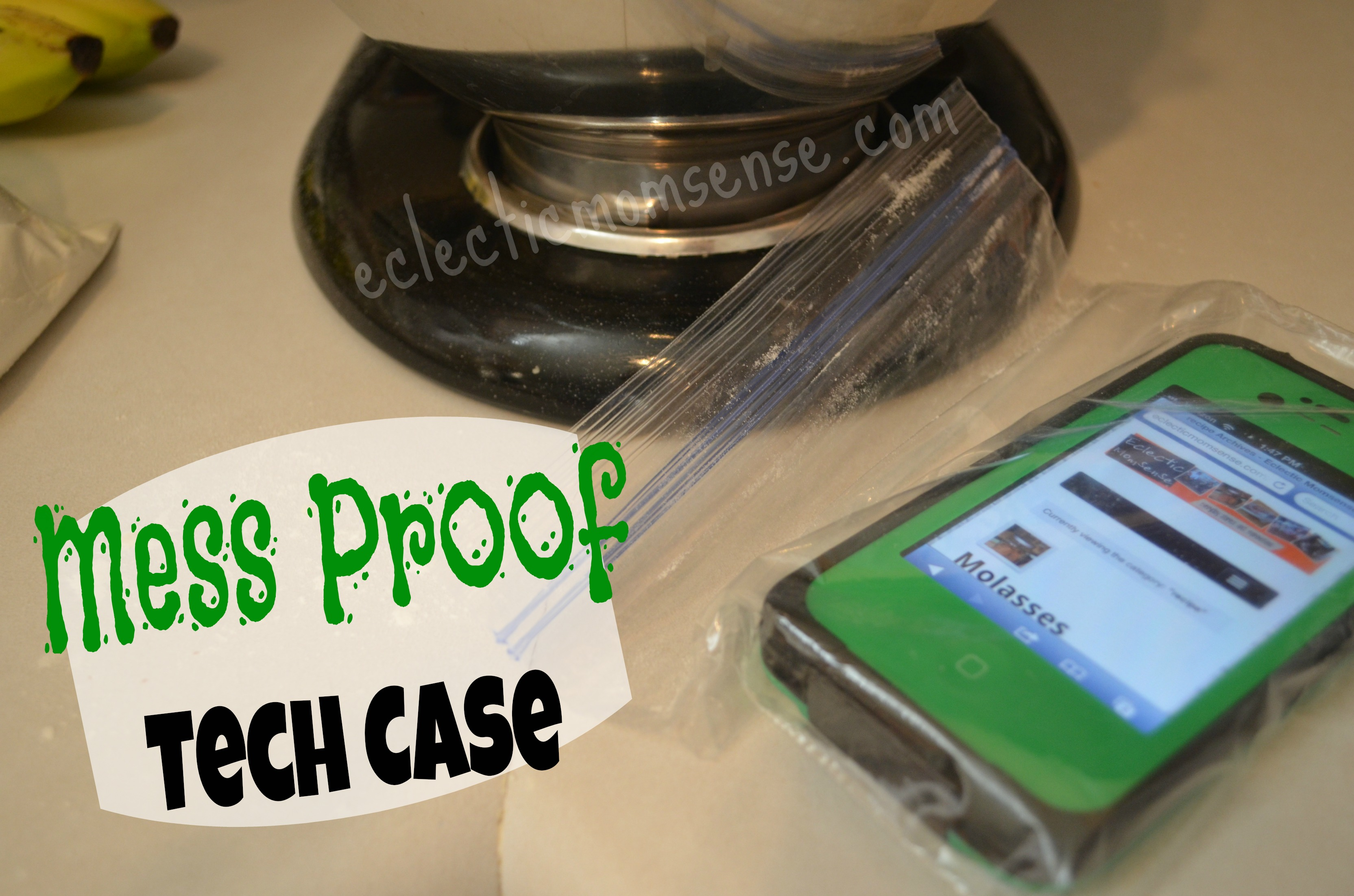 Mess proof tech case for pennies from @eclecticmommy- eclecticmomsense.com