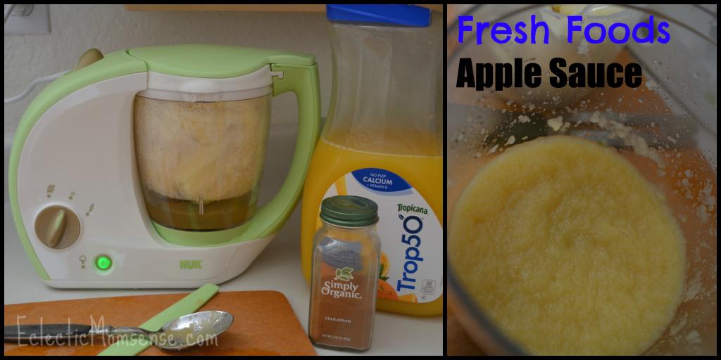 Fresh Foods Apple Sauce