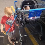 Outings made stress free and safer with the #ad Hold-on Hands stroller and walking accessory