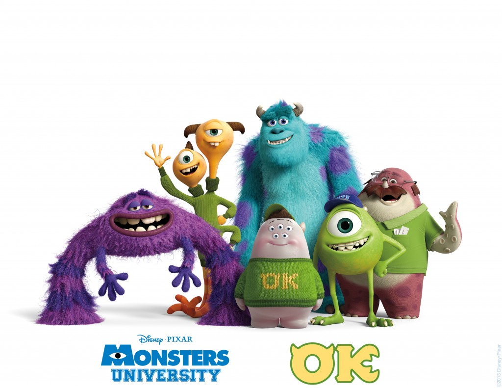 Start your summer off right with Monsters University. And don't miss the new Pixar Short, gorgeous!