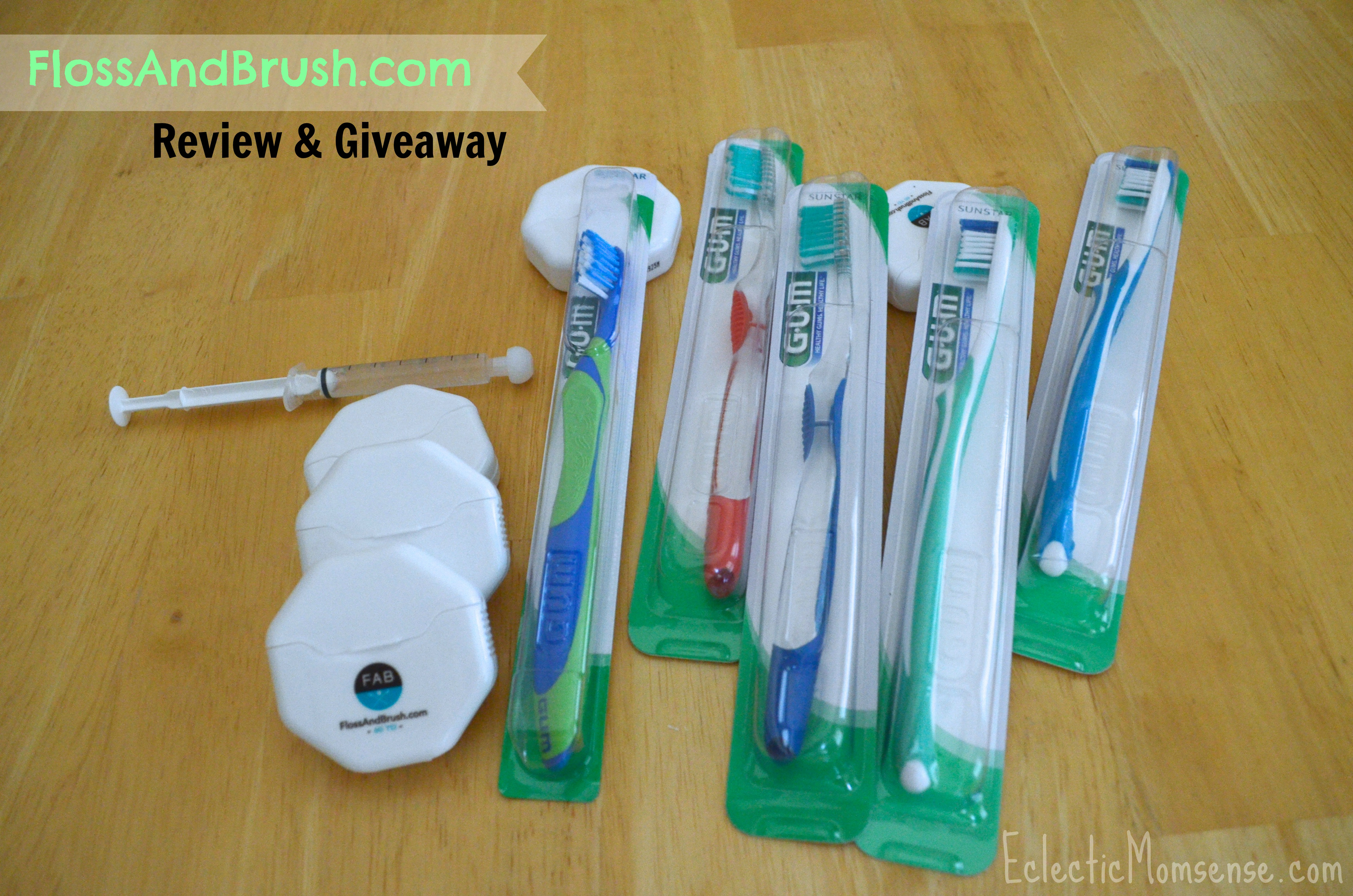 Put on a #FABsmile with FlossAndBrush.com Review and Giveaway #Sponsored