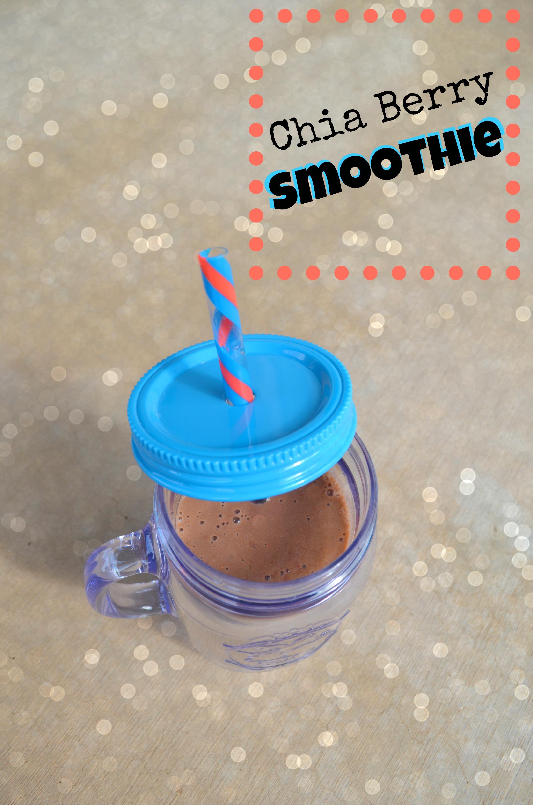 chia berry smoothie