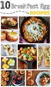 10 Egg Breakfast Recipes | #breakfast #eggs